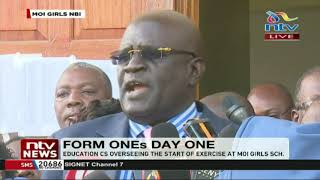 Download We will not negotiate with a gun to our head, CS Magoha tells lecturers Video