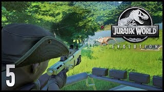 Download Jurassic World: Evolution || 5 || Sick Dinosaur Video
