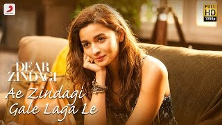 Download Ae Zindagi Gale Laga Le Take 1 - Dear Zindagi | Alia | SRK | ILAIYARAAJA | Gulzar | Amit | Arijit Video