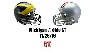 Download Ohio State Buckeyes vs Michigan Wolverines in 40 Minutes - 11/26/16 Video