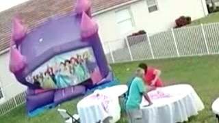 Download Watch Neighbor Unplug Bounce House That Deflated on 12 Kids at Birthday Party Video