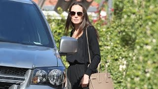 Download Angelina Jolie Spotted Out Without Wedding Ring Video