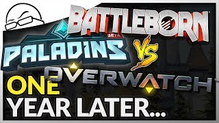 Download One Year Later - Battleborn vs Paladins vs Overwatch - Which one should you buy?! Video