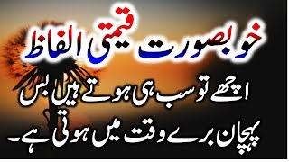 Beautiful Khubsoorat quotes/ batain in urdu |Islamic QuoteUrdu/Hindi