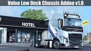 Download ✅ ETS2 1.31 - Low Deck Chassis Addon v1.0 for Volvo FH by Eugene Video