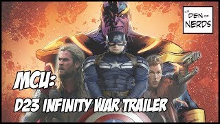 Download D23 Infinity War Trailer Breakdown! Black Order, Thanos Fighting The Iron Spider, Hulk Buster Armor? Video