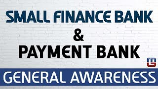 Download Small Finance Bank & Payment Bank | General Awareness | All Competitive Exams Video