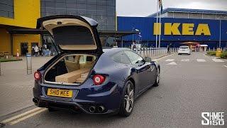 Download IKEA Shopping in the Ferrari Video