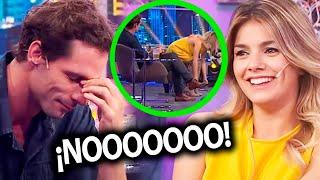 Download La reacción de Gonzalo Valenzuela cuando Natalie Pérez se agachó en vivo y se le vio todo Video