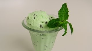 Download Homemade Mint Chocolate Chip Ice Cream Recipe - Laura Vitale - Laura in the Kitchen Episode 400 Video