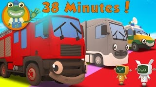 Download Fiona The Fire Truck and More Big Trucks For Kids   Gecko's Garage Video