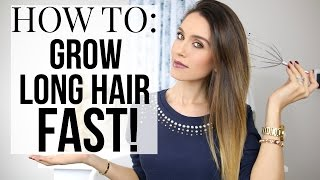Download HOW TO GROW LONG HAIR FAST - 5 STEPS! | Shea Whitney Video