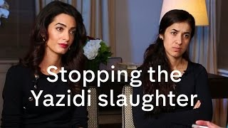 Download Nadia Murad and Amal Clooney interview on Yazidis, President Assad and migration crisis Video