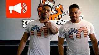 Download Hodge Twins Invade TigerFitness with a Big Announcement Video