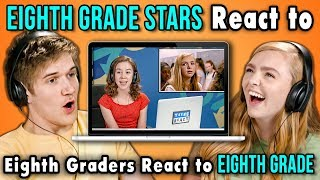 Download BO BURNHAM AND ELSIE FISHER REACT TO EIGHTH GRADERS REACT TO EIGHTH GRADE Video