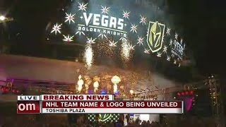 Download Las Vegas' new NHL team named Golden Knights Video