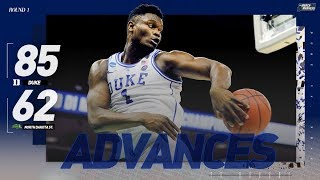 Download Watch Duke, Zion Williamson advance past NDSU (Extended highlights) Video