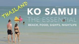 Download KO SAMUI, Thailand - The Essential - Beach, Food, Sights, Nightlife (4K) Video