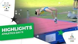 Download Highlights Day 11 I Athletics #Napoli2019 Video