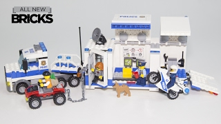 Download Lego City 60139 Mobile Command Center Speed Build Video