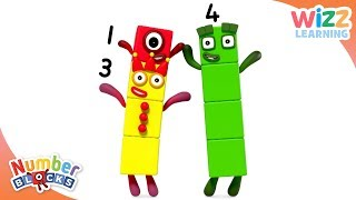 Download Numberblocks - NEW EPISODE! | Peek-a-Boo! | Learn to Count | Wizz Learning Video