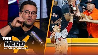 Download Nick Swisher on controversial fan interference call in ALCS and Machado's antics | MLB | THE HERD Video