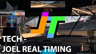 Download TECH - Joel Real Timing Overlays in iRacing Video