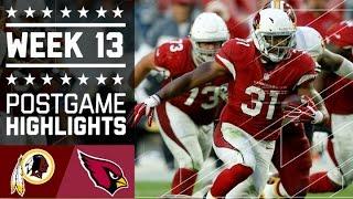 Download Redskins vs. Cardinals (Week 13) | Game Highlights | NFL Video
