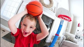 Download FATHER SON HOUSE BASKETBALL! / H.O.R.S.E. Video