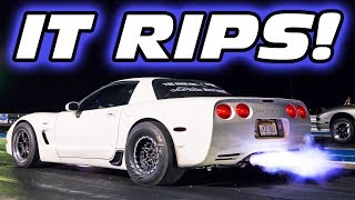 Download Taming the Unicorn C5 Corvette - HOLY SH*T ITS FAST! Video