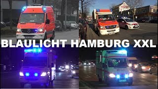 Download [BLAULICHT HAMBURG XXL] VIELE BUNTE EINSATZFAHRZEUGE IN HAMBURG Video
