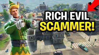 Download Insanely Rich Squeaker Scams Himself! (130s?) (Scammer Get Scammed) Fortnite Save The World Video