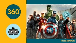 Download VR 360, HD Battle for the Avengers Tower 1080s Video
