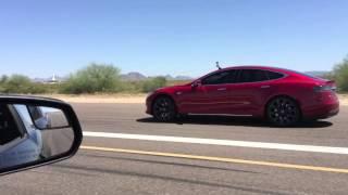 Download 1500 Horsepower GT500 Blows Motor vs Tesla P85D!!! Video