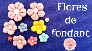 Download Tutorial - Cómo hacer flores de fondant fáciles| Mi tarta preferida Video