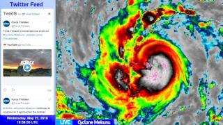 Download Cyclone Mekunu Live Update - May 23, 2018 Video