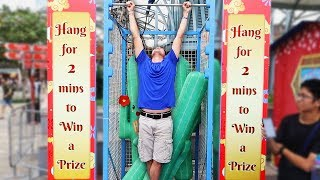 Download Hang Challenge is the HARDEST Carnival game ever!! Video