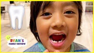 Download Ryan lost his first tooth + Money Surprise from the Tooth Fairy!!! Video