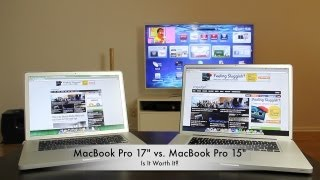Download Apple MacBook Pro 17″ vs. Apple MacBook Pro 15″ Review - Is It Worth It? Video