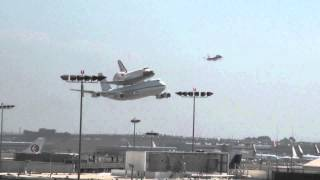 Download Shuttle Endeavour Low Pass Video