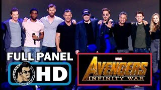 Download AVENGERS: INFINITY WAR Full D23 Cast Panel & Trailer Introduction (2018) Video
