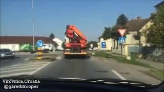 Download Drive around Virovitica,Croatia Video