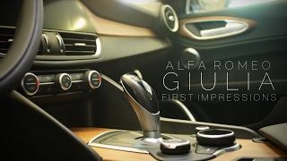 Download Alfa Romeo Giulia First Impression Video