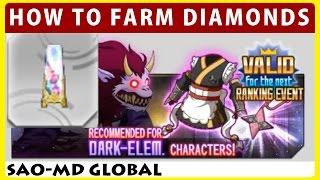Download How To Farm Diamonds & Dark Equipments Event News (SAO Memory Defrag) Video