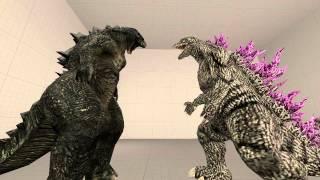 Download [SFM]Godzilla and Godzilla 2014 Video