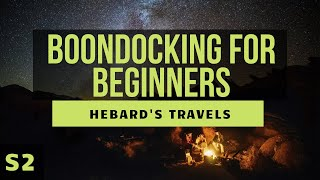 Download RV Nomad Life | Boondocking For Beginners: What We Wish We Had Known Video