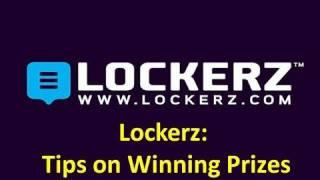 Download Lockerz: Tips on Winning Prizes Video