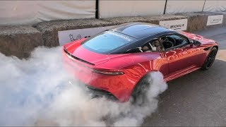 Download The Best Supercar Burnouts and Launches at GoodWood 2018 Video