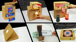 Download TOP 10 Amazing ideas from Cardboard at Home Video