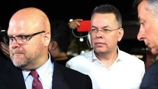 Download US pastor Andrew Brunson released from Turkish custody after two years Video